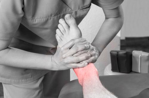 ostéopathie contre la douleur de pied